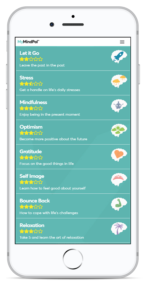 MyMindPal dashboard